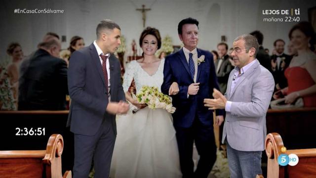 Rosa Benito se auto invitó a la boda de Ortega Cano y Ana María, según 'Sálvame'