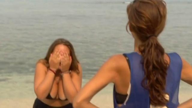 Supervivientes 2020 / Rocío Flores sufre otro ataque de ansiedad al divisar un tiburón
