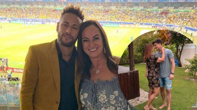 El novio de la madre de Neymar fue titular del Villafranca de los Barros de Extremadura