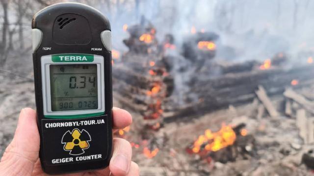 Incendios en Chernobyl arrasan bosques y alarman los niveles de radiación