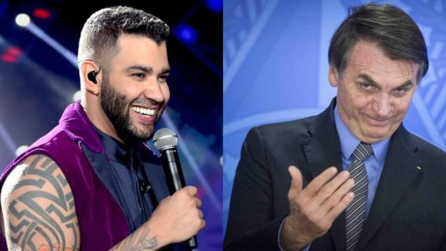 Bolsonaro lamenta polêmica envolvendo o cantor Gusttavo Lima