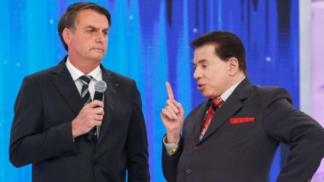 Silvio Santos diz que Bolsonaro é 'seu patrão'