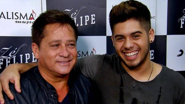 Zé Felipe anuncia data de live com Leonardo: 'vem show por aí'