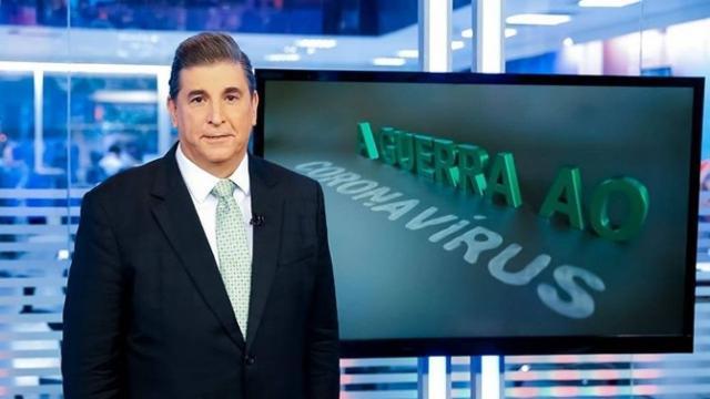 Silvio Santos ordena afastamento de Carlos Nascimento do