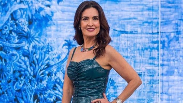 A apresentadora Fátima Bernardes troca nome de namorado pelo de William Bonner