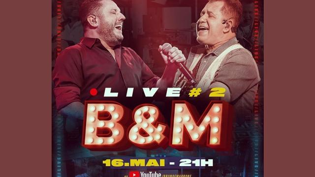 Bruno e Marrone confirmam a segunda live a pedido dos fãs