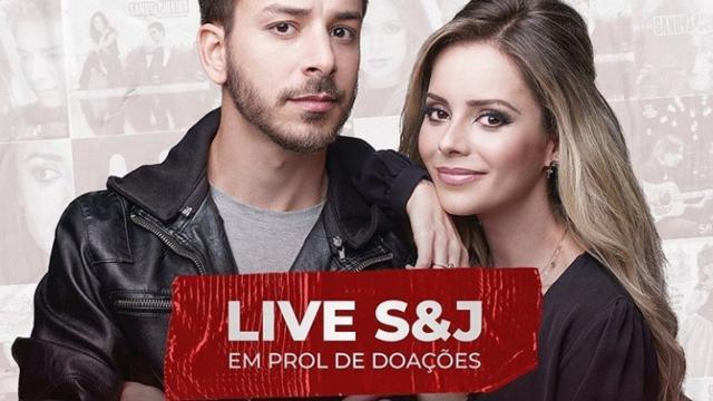Sandy e Júnior atenderam o pedido dos fãs, e marcam sua live show.