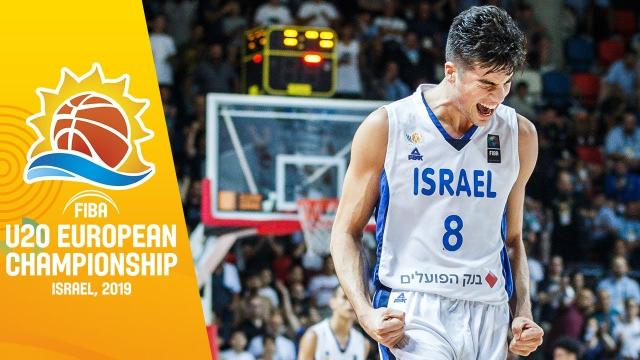 Israeli basketball player Deni Avdija declares for the 2020 NBA draft