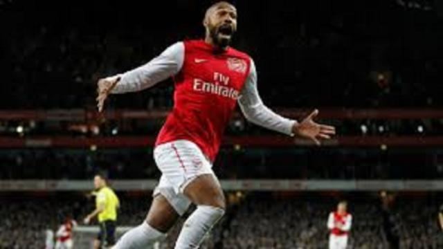 Thierry Henry élu meilleur joueur de l'histoire de la Premier League