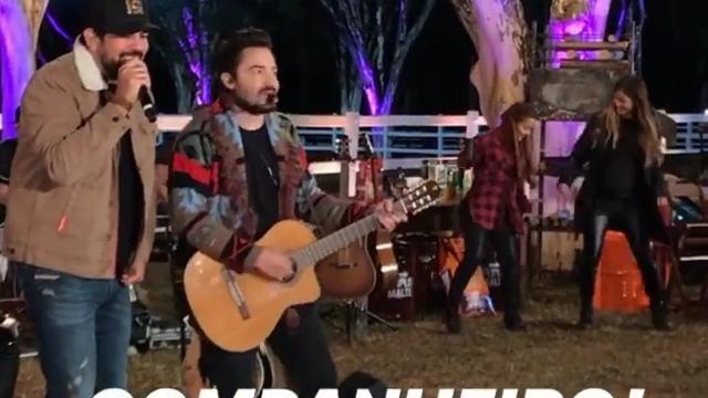 Fernando e Sorocaba fazem live multiplataforma, com participação de Maiara