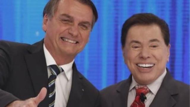 Silvio Santos defende Bolsonaro: 'jamais me colocaria contra meu patrão'