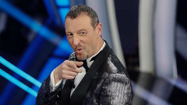 Domenica in, Amadeus su Sanremo: 'al primo non si dice no, al secondo ci si pensa'