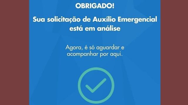 Caixa afirma ser possível corrigir dados do auxílio emergencial e informa como.