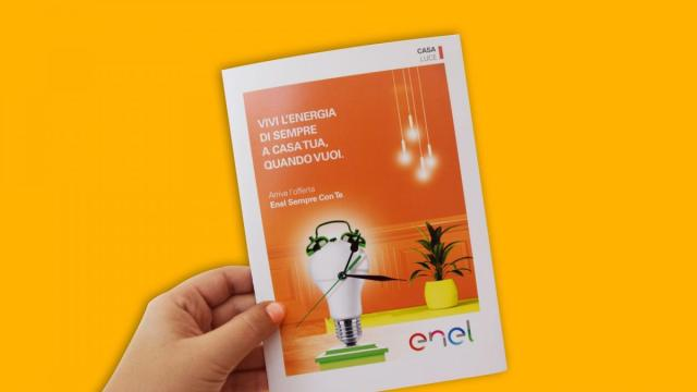 Promo Enel Energia Sempre Con te, addio variazioni trimestrali, prezzo fisso per un anno