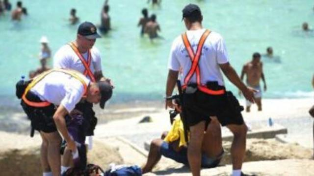 COVID-19: Família é detida na praia por desrespeitar decreto do governo do RJ
