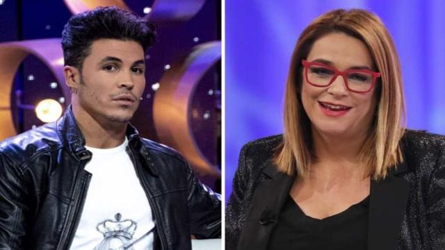 Toñi Moreno en su vuelta a Telecinco recibe a Kiko Jiménez con zascas