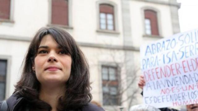 Isa Serra: la diputada fue condenada a 19 meses e inhabilitada por agresión a policías