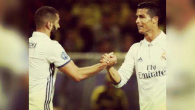 Football : Benzema placé dans le onze des meilleurs coéquipiers de Cristiano Ronaldo