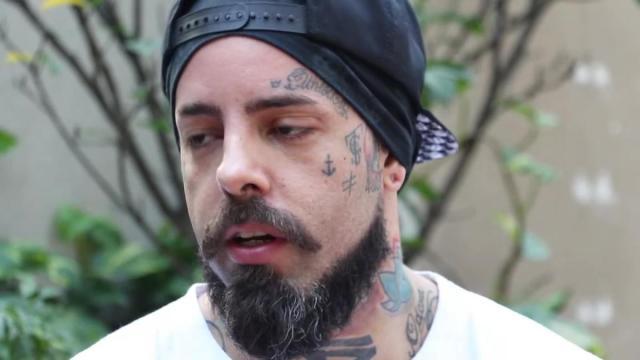 O cantor Tico Santa Cruz critica o governo Bolsonaro