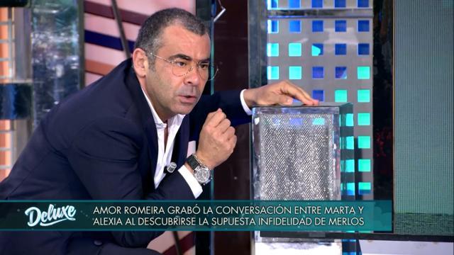 Jorge Javier Vázquez utiliza el culebrón de Alfonso Merlos para referirse a la derecha
