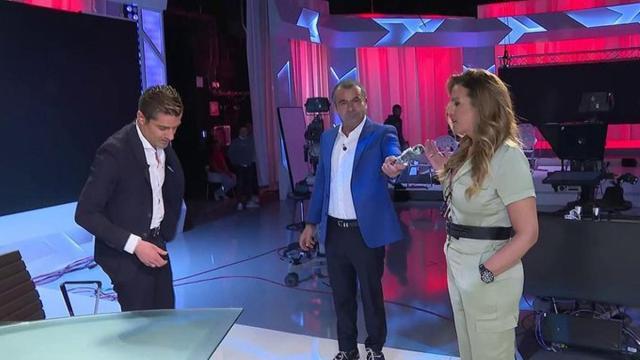 Jorge Javier y Marta López se encaran con Merlos en directo pidiendo explicaciones