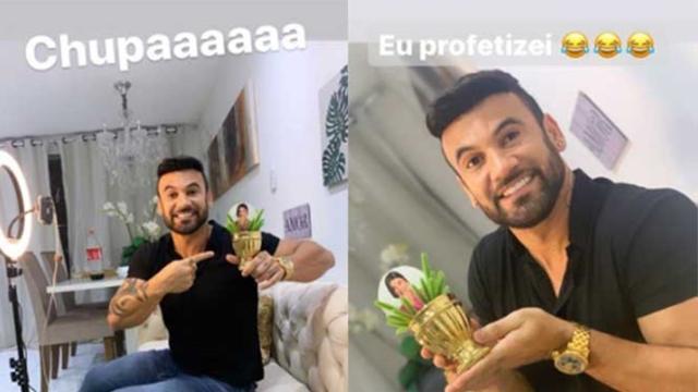 Hadson 'zoa' Manu Gavassi por ter ficado em 3º lugar no 'BBB20'