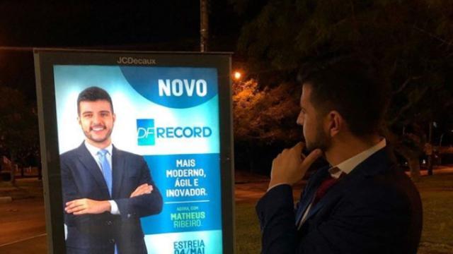 Jornalistas da Record Brasília repudiam contratação de jornalista gay do JN