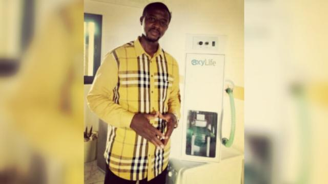 Cameroun-Coronavirus : Elvadas Kengne invente OxyLife pour soulager les patients