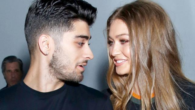 El cantante Zayn Malik de One Direction y su novia, la modelo Gigi Hadid, van a ser padres