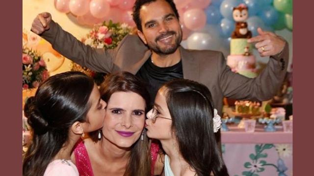 Luciano Camargo fala sobre sua rotina ao lado de sua esposa e filhas