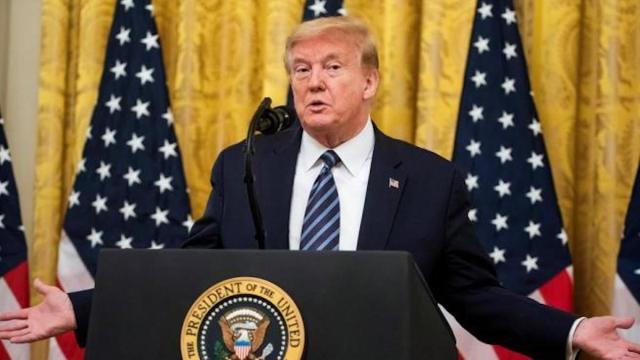 Trump reitera que el coronavirus procede de un laboratorio de Wuham