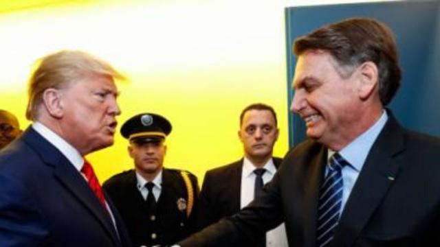 Bolsonaro ganha elogio de Donald Trump: 'está fazendo um trabalho muito bom'