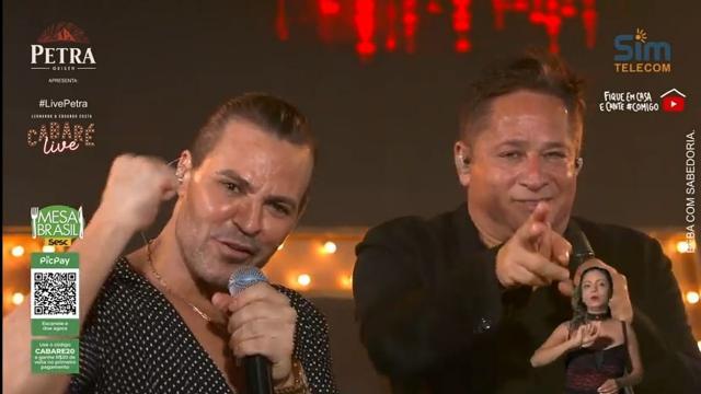 Live de Leonardo e Eduardo Costa,