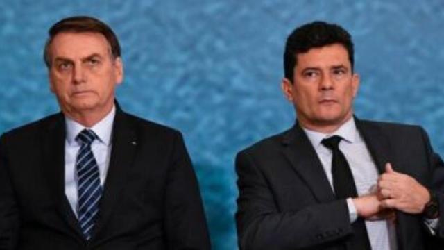 Bolsonaro disse que Sérgio Moro é 'Judas' em rede social