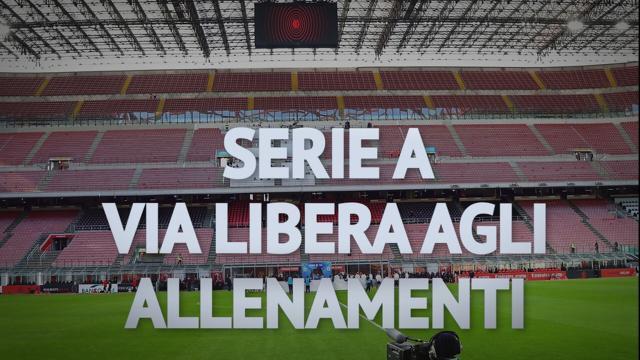 Serie A: al via gli allenamenti individuali, ma Conte potrebbe terminare il campionato