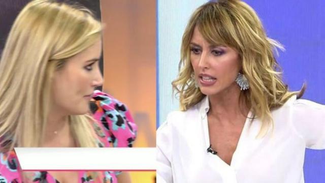 Enma García le pega un corte a Alba Carrillo diciéndole que ella defiende a quien quiere
