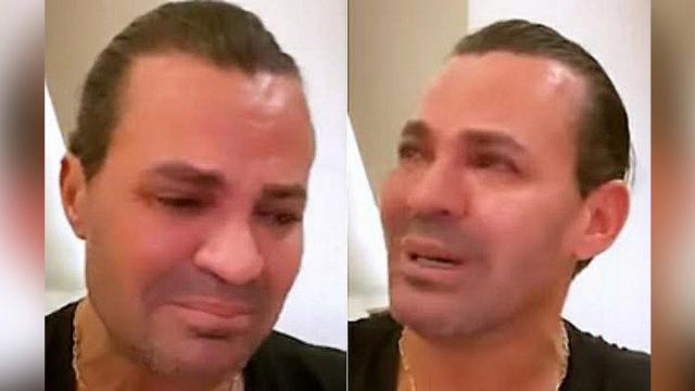 Eduardo Costa chora em live e fala em abandonar carreira: 'estou muito triste'