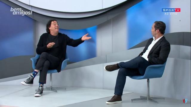 Casagrande e Caio Ribeiro batem boca ao vivo no SporTV