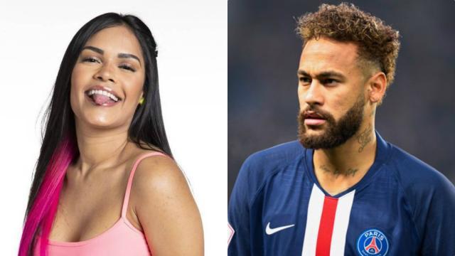 Amiga de Flayslane divulga prints de conversa entre ex-BBB e Neymar