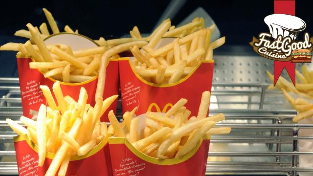 Les frites de Mc Donald's: ce n'est pas que de la patate, leur composition est répugnante