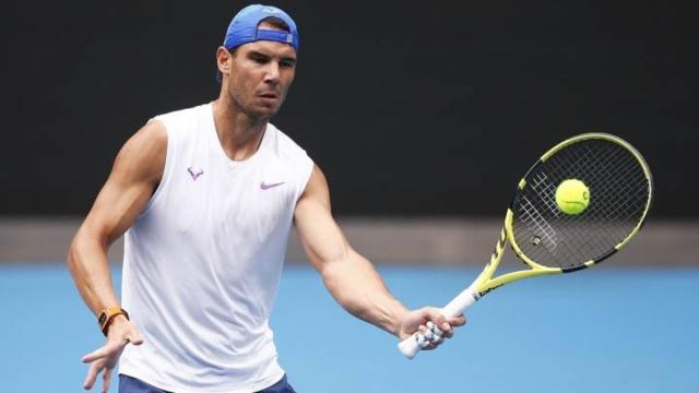 Rafael Nadal empieza a entrenar : 'quiero la normalidad de antes con adaptaciones'