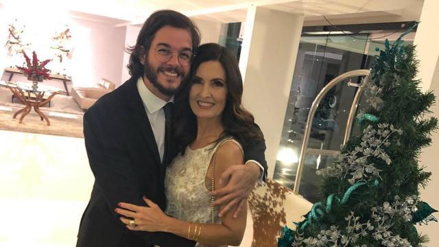 Fátima Bernardes fala de isolamento com o namorado: 'recém-casados'