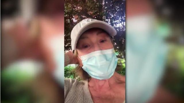 Mila Ximénez aterrada sale por primera vez en la desescalada