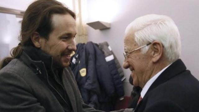 Una supuesta carta a Pablo Iglesias origina que Inda diga que el padre Ángel 'chochea'