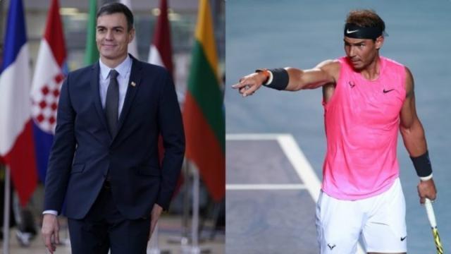 Críticas a Rafa Nadal en las redes sociales por sus comentarios al Gobierno de Sánchez
