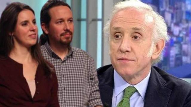 Eduardo Inda, denunciado por acosar a los hijos de Pablo Iglesias