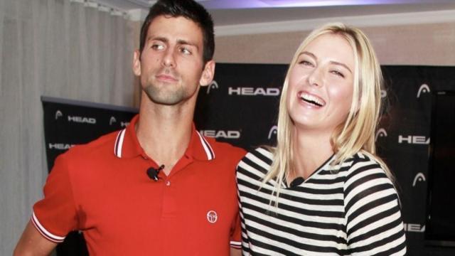 María Sharapova habla vía Instagram sobre su retirada con Novak Djokovic