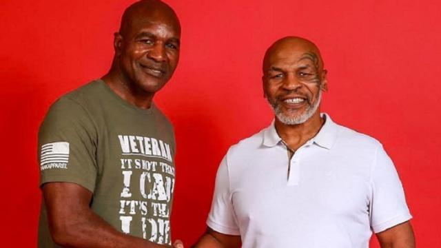 Holyfield apre al 3° mach con Tyson: 'Si, se è per fare beneficenza'