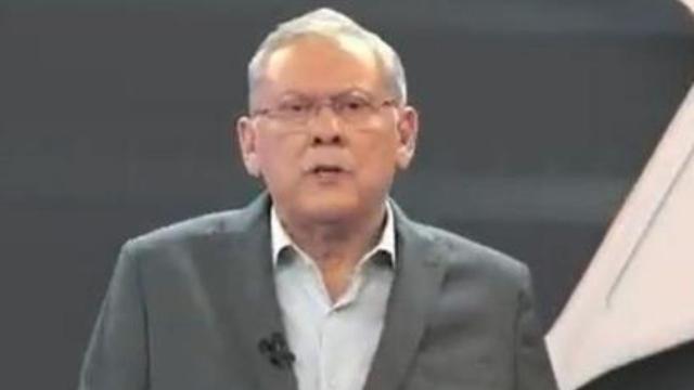 Milton reclama ao vivo e critica atraso de Cátia Fonseca na Band