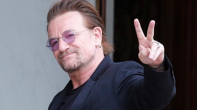 El músico irlandés, Bono cumple 60 años
